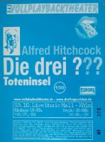 "23.10.2001 – Vollplayback-Theater ""Die drei ???"" – Köln Live Music Hall"