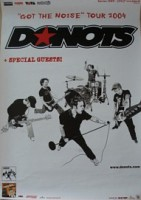 23.12.2004 – Donots / Strike Anywhere / Peacocks – Düsseldorf Zakk