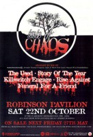 20.11.2005 – Taste of Chaos Tour u.a. mit The Used / Story of the Year – Köln Palladium