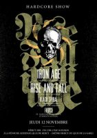 24.11.2009 – Rise and Fall / Iron Age / Rebarker – Berlin, Cassiopeia