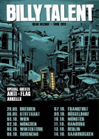 09.10.2012 – Billy Talent / Anti-Flag / Arkells – Düsseldorf Mitsubishi Electric Halle