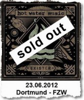23.06.2012 – Hot Water Music / La Dispute / Red Tape Parade – Dortmund FZW