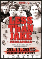 24.11.2010 – Less Than Jake / Zebrahead / Sonic Boom Six – Köln Live Music Hall