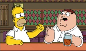 Peter Griffin vs. Homer Simpson: Vorab-Clip des Serien-Crossovers online