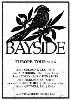 Bayside: Im Juni zurück in Deutschland