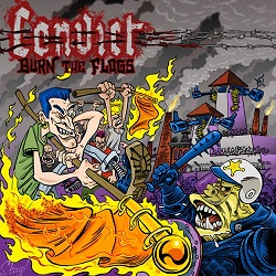Convict – Burn the Flags (2015, Strength Records)