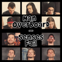 Man Overboard / Senses Fail – Split (2015, Pure Noise Records)