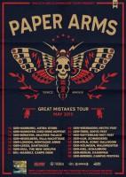 Paper Arms: Ausgiebige Deutschland-Tour zur neuen Platte