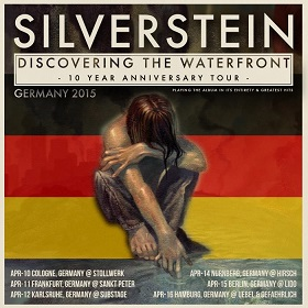 10.04.2015 – Silverstein / Lonely the Brave / As It Is – Köln Bürgerhaus Stollwerck