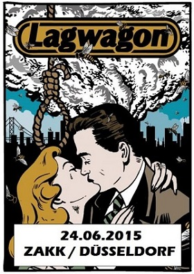 24.06.2015 – Lagwagon / Strung Out / Authority Zero – Düsseldorf Zakk