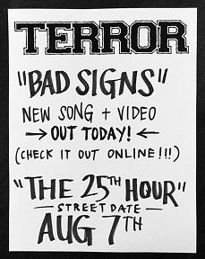 Terror: Video-Vorgeschmack aufs neue Album