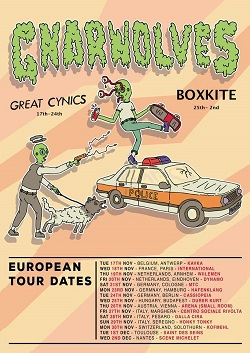 21.11.2015 – Gnarwolves / Great Cynics – Köln MTC