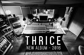 Thrice: Neue Platte im kommenden Jahr
