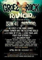 29.04.2016 – Groezrock 2016 u.a. mit Rancid / No Fun At All – Belgien, Meerhout (Tag 1)