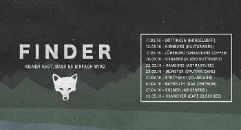 Finder: Tour zum Debütalbum