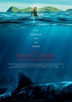 The Shallows: Kinoplakat zum Tier-Horror mit Blake Lively
