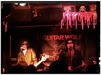 17.10.2016 – Guitar Wolf / Sinister Kris Combo – Berlin Wild at Heart
