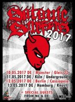 Satanic Surfers: 2017 zurück auf deutschen Bühnen