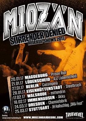 Miozän: Release-Tour zum neuen Album