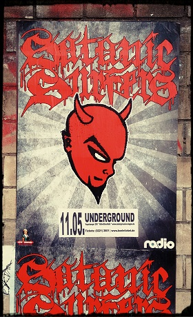 11.05.2017 – Satanic Surfers / Bitter Grounds / Damniam – Köln, Underground
