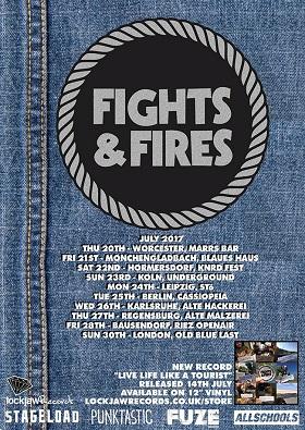Fights and Fires: Tourdaten und Hörprobe