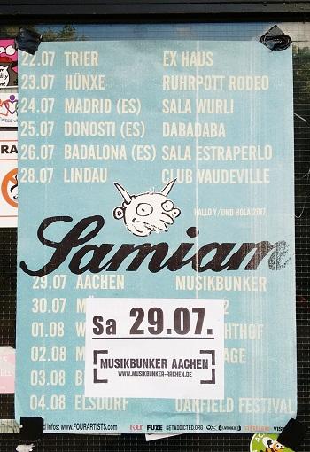 29.07.2016 – Samiam / The Dial Ups – Aachen, Musikbunker