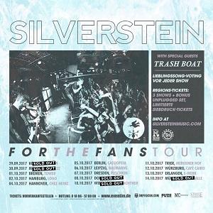 Silverstein: Deutschland-Gigs für die Fans