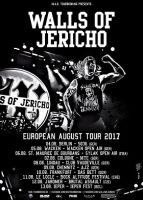 Walls of Jericho: Tourabsage durch Drummer-Engpass