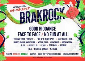 05.08.2017 – Brakrock Festival mit Get Dead, Teenage Bottlerocket u.a. – Belgien, Duffel