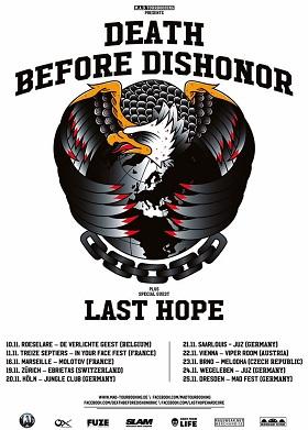 Death Before Dishonor: Endlich wieder auf Tour