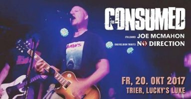Consumed: Drei Festland-Konzerte am Wochenende