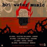 Hot Water Music: Endlich wieder Deutschland auf dem Tourplan