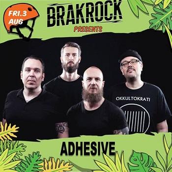 Brakrock 2018: Adhesive und The Flatliners sind dabei