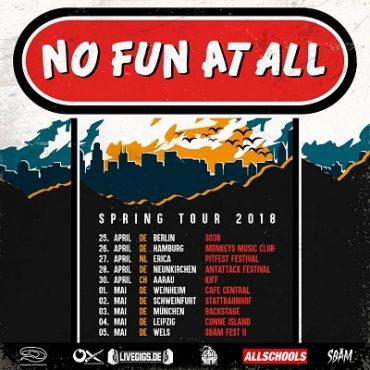 No Fun At All: Mit neuer Platte auf Tour