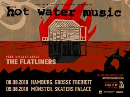 Hot Water Music: Zwei weitere Deutschland-Shows