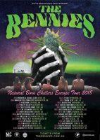 The Bennies: Ausgedehnte Euro-Tour