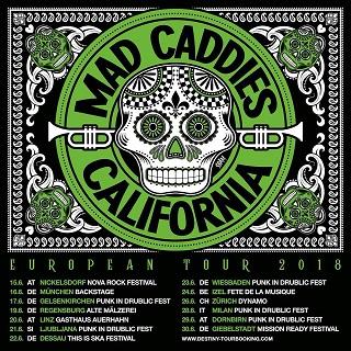 Mad Caddies: Im Sommer auf Europabesuch