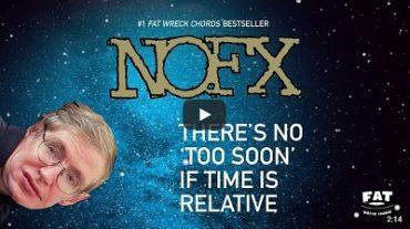 NOFX: (Buchstäblich) schräger Song-Tribut an Stephen Hawking