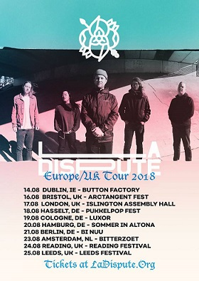 La Dispute: Im Sommer auf Euro-Tour