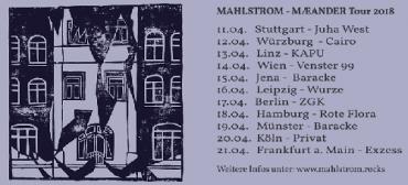 Mahlstrom: Mit Blues und Tourdaten