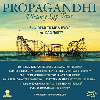 Propagandhi: Europa-Tour, Part II